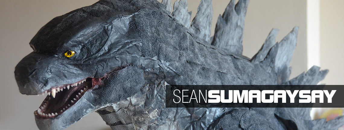 Sean Sumagaysay's Godzilla